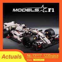 Nieuwe Stad F1 Racing Auto Voertuig Voor Lepinly Technic Diy Sport Auto Bouwstenen Bricks Onderwijs Speelgoed Voor Kinderen Jongens