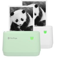 PeriPage A9 Mini Portable Thermal Printer Paper Photo Pocket Thermal Printer 77 mm Printing Wireless Bluetooth Android IOS Print