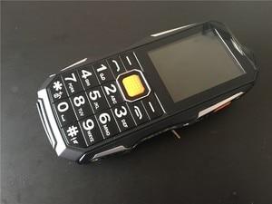 Image 5 - 2018 חדש S9 כוח בנק טלפון עמיד הלם רמקול חזק פנס Bluetooth מצלמה MP3 FM Dual SIM 2.4 אינץ טלפון סלולרי