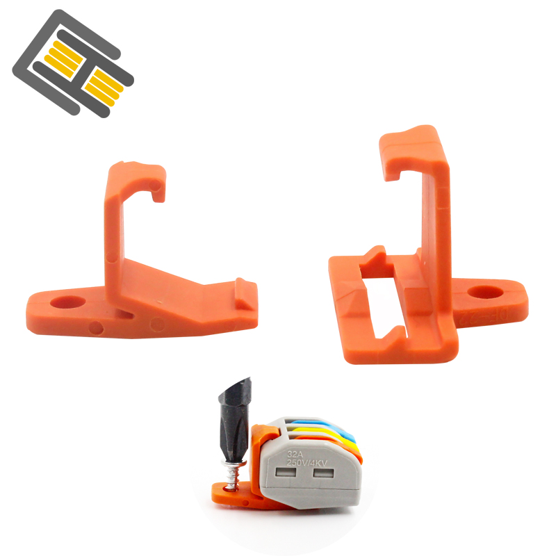 Wire Connector Mount 10/30/50 Quick Connector Cable Connector Conductor Block Terminal Connector Fixing Accessories