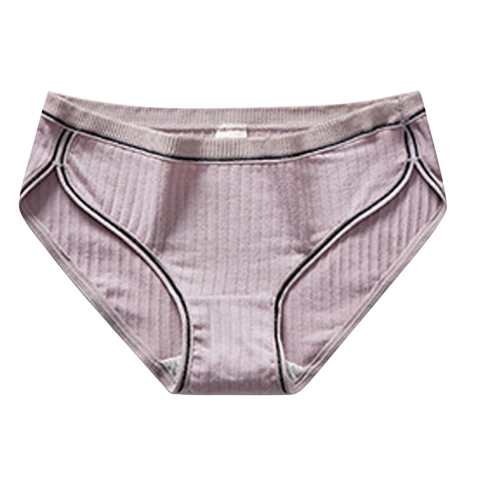 Womail Traceless Ladies Cotton Underwear Solid Seamless Cotton Underwear <font><b>Women</b></font> Plus Size <font><b>Sexy</b></font> <font><b>Breathable</b></font> Underpants Underwears image
