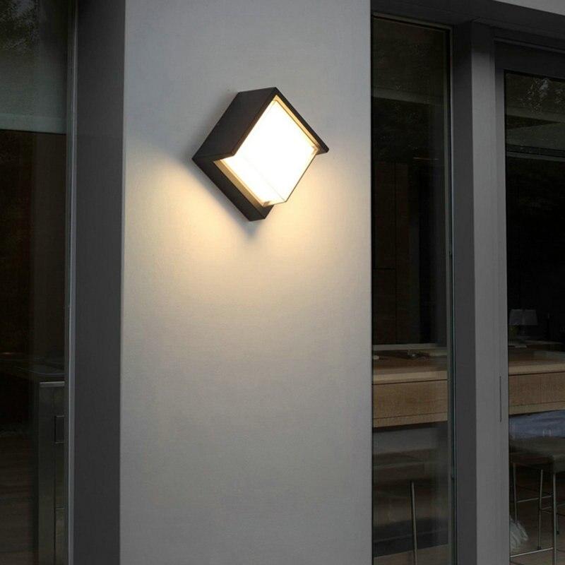 jardim moderno luz parede led a 02