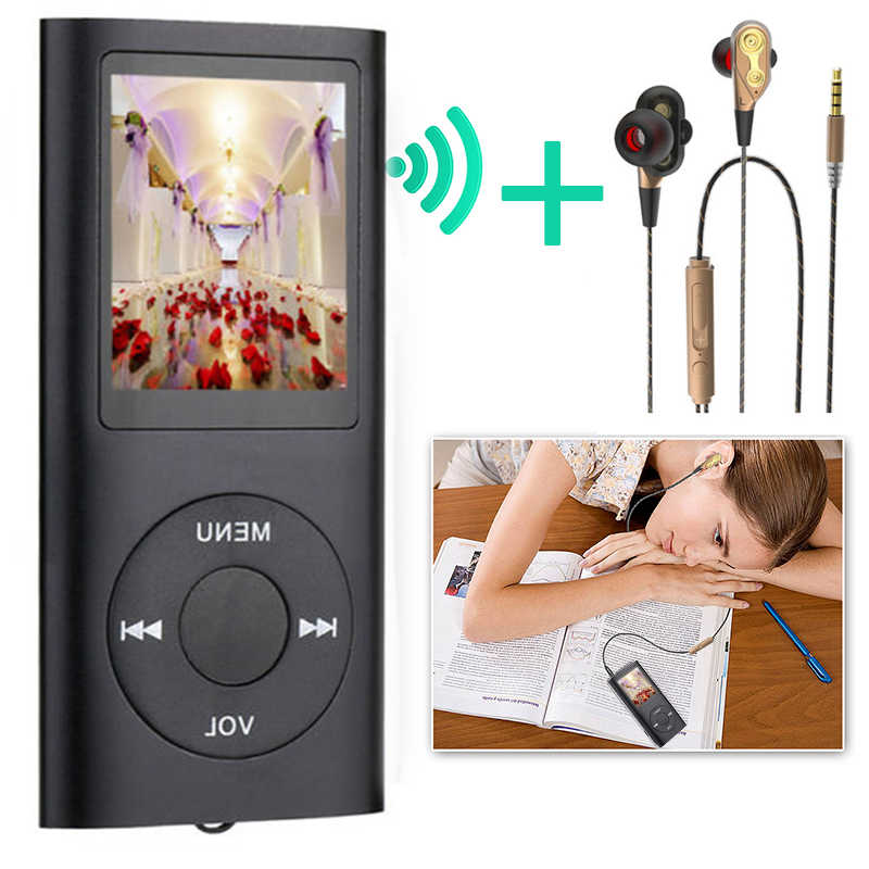 "MP4 Player Digital Led Video 1.8 ""LCD MP4 Musik Video Media Player FM Radio Musik Hause Foto Sport Werkzeug reproductor de musica"