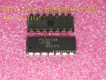 Free Shipping 50pcs/lots PIC16F688-I/P PIC16F688 16F688-I/P DIP-14  New original  IC In stock!