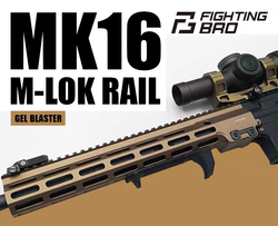 MK16 part  Fighting Bro Metal refit accessories gel blaster toy accessories