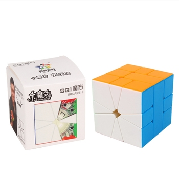 Fast delivery Yuxin little magic sq-1 square one magnetic Magic Cube speed cube Professional cubo magico puzzle children toys - discount item  50% OFF Games And Puzzles