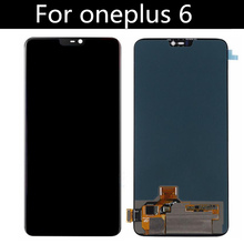 FOR Oneplus 6 LCD Display+Touch Screen Digitizer Assembly Replacement Accessories for Oneplus6 LCD screen цена в Москве и Питере