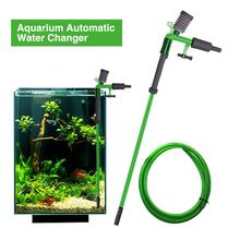 New Aquarium Cleaner Changer Gravel Fish Tank Automatic Water Changing Vacuum Siphon Suction