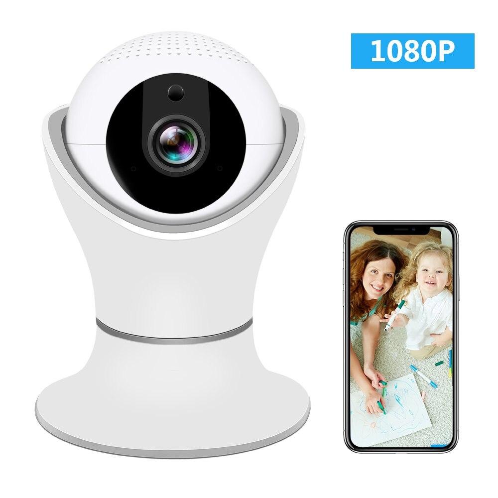 Pripaso 1080P Wireless Home Security IP Camera 360 Degree Wifi Indoor Video Surveillance System Network Baby Monitor CCTV Camera