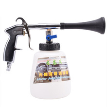 цена на Tornado Blow Gun Car Car Roof Interior Cleaning Gun Cleaning Machine Blowing Foam Gun High Pressure Pneumatic Spray Gun