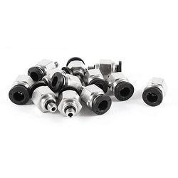 12 sztuk 6mm pneumatyczne powietrza złącze rury 5mm gwint szybkie okucia|Złącza|   -