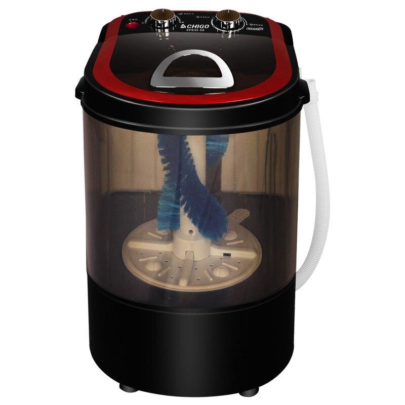 3kgs Portable Mini Shoes Washer Household Semi Automatic Shoes Cleaner Deodorization Washing Machine Shoes Brushing Dropshipping