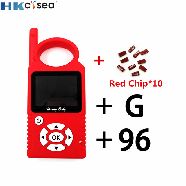 V9.0.5 Handy Baby Can Generate Remote Auto Key Programmer for 4D/46/48 Chips support Multi languages with G Function