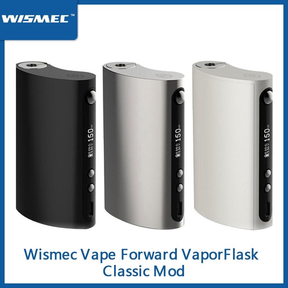 Original 150W Wismec Vape Forward VaporFlask Classic Box Mod 510 Thread Output TC/VW Mode Vape Mod E-Cigarette