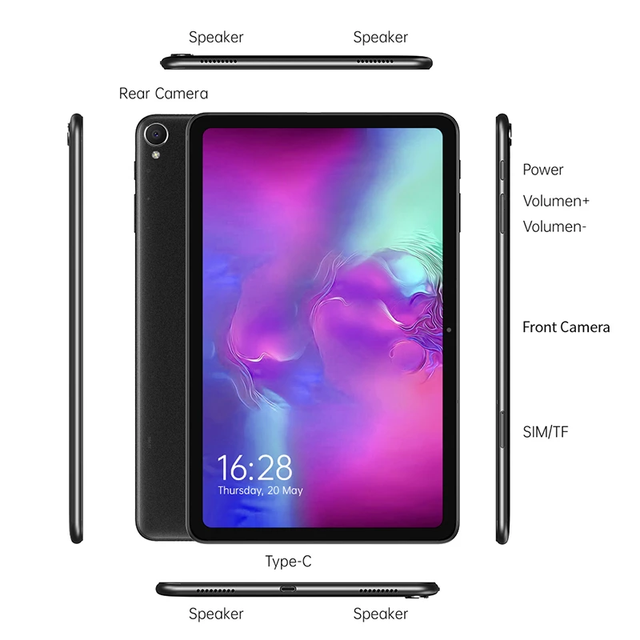 [Newest]ALLDOCUBE iPlay 40 Pro 10.4'' Tablet Android 11 2K 2000x1200 FHD 8GB RAM 256GB ROM UNISOC T618 OctaCore 4G LTE Dual Wifi 6