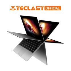 Teclast F6 Pro 360 градусов ноутбук с системой Windows 10 OS 13,3 дюйма 1920x1080 8 GB Оперативная память 128 GB SSD Intel Core m3-7Y30 двухъядерный Тетрадь