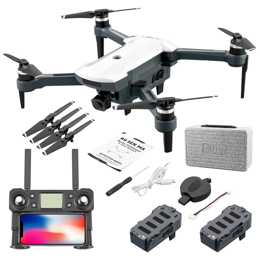 CG028 GPS Drone With 5G WIFI FPV 4K HD Camera Wide Angle Shooting Brushless Foldable Drone Headless Mode RC Drone Quadcopter