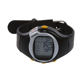 New Sport Pulse Heart Rate Monitor Calories Counter Fitness Wrist Watch Black fashion watches fitness 3d pedometer calories counter sport clock pulse heart rate monitor wholesalef3