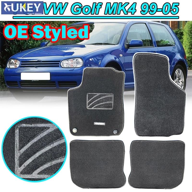 99-05 FRONT /& REAR CAR FULL SET SEAT COVERS CLOTH BLACK VW BORA