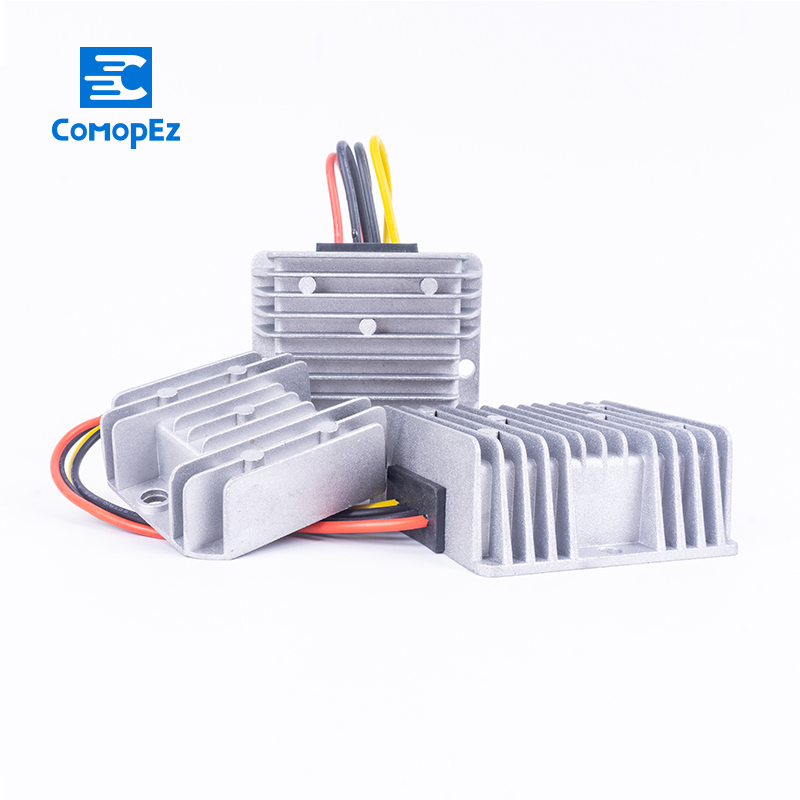 DC Converters 12V to 24V 1A 2A 3A 5A 8A 10A 12A 15A 20A 21A 25A Buck Step Down Voltage Power Convert for Cars
