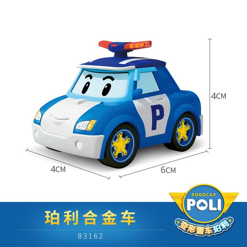 Silverlit Robocar Poli Action Figures Kids Toys Robot Poli Roy Haley Anime Metal Action Figure Toy Car For Kids Birthday Gift