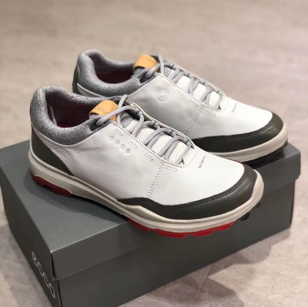 Men Casual Shoes Golf Shoes Men Elastic Band Walking Men Leather Shoes
