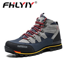 2020 Mans Winter Shoes Leather Travel Boots Men Non-slip Casual Shoes Men Big Size 47 Sneakers High Quality Footwear Green