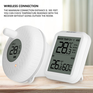 Image 1 - Inkbird sem fio indoor & outdoor flutuante termômetro pet banho para piscina, banho de água, spas, aquário