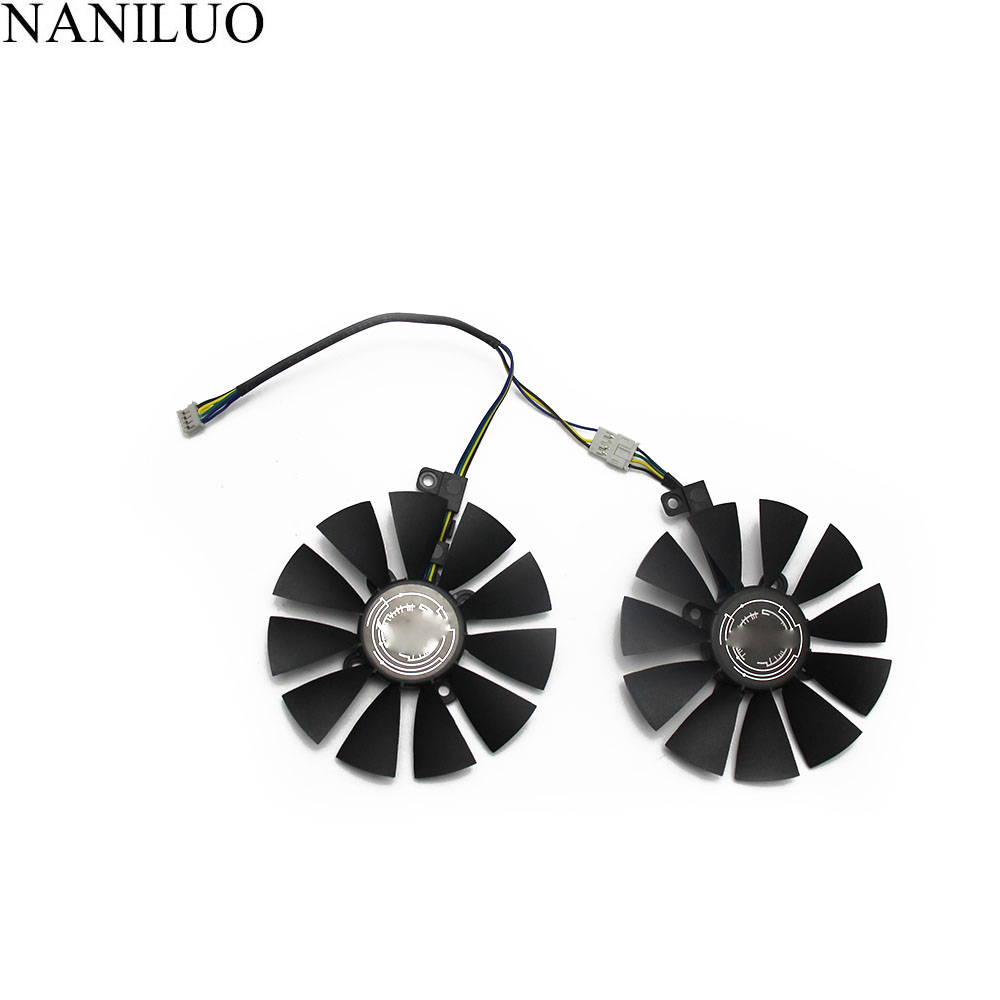 87MM PLD09210S12HH DC 12V 4Pin Cooler Fan Replacement For ASUS ROG STRIX RX 470 570 GTX 1060 1070 1060Ti 3GB Graphics Video Card image