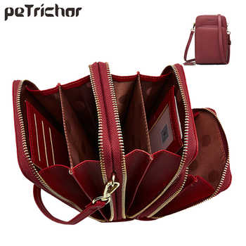 Luxury Leather Messenger Bags Women Clutch Mini Crossbody Shoulder Bag Female Large Capacity Phone Bag Ladies Purse With Zipper - DISCOUNT ITEM  30% OFF All Category