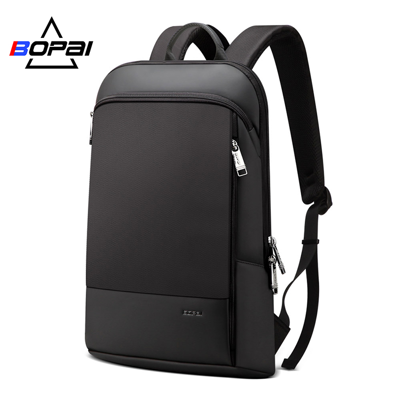 Stylish Mochila Daypacks Men Ultra Slim Laptop Backpack Ultra Light Computer Backpack Bags Water Repellent Men Back Pack Bags