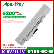 5200 мАч аккумулятор для ноутбука MSI Wind U210-006US U230 U100 U90 U200 U210 для LG X110 ДЛЯ MEDION Akoya Mini E1210 BTY-S11 BTY-S12