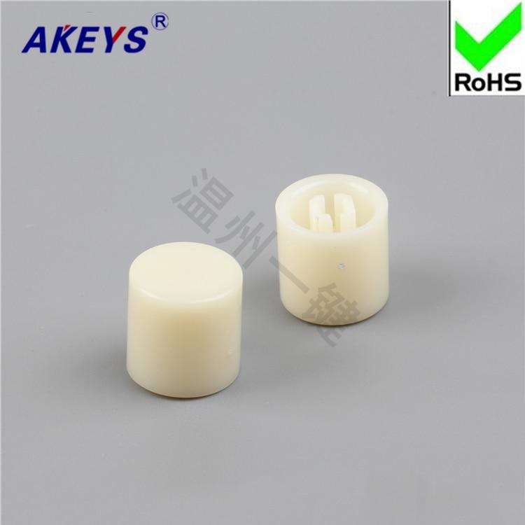 10PCS A26m White with Key Switch/Piano Switch Cap Quality Direct Self-locking