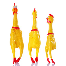 Decompression-Tool Product Dog-Toys Vent-Chicken Squeak Screaming Shrilling Pets
