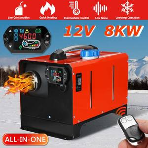 Parking-Warmer Air-Heater Diesel Boat Lcd-Monitor Truck RV 12V for Car Bus All-In-One-Unit