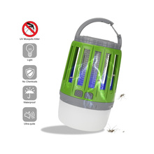 USB Charging Mosquito Killer Trap LED Night Light Lamp Bug Insect Light Electric Mosquito Repeller Camping Light IP67 Waterproof