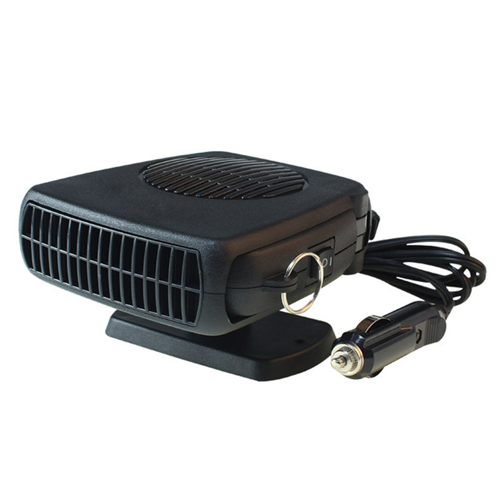 Newest Car Mini Electric Fan Heaters Window Defrost Defogging Heating Device Warm Air Blower