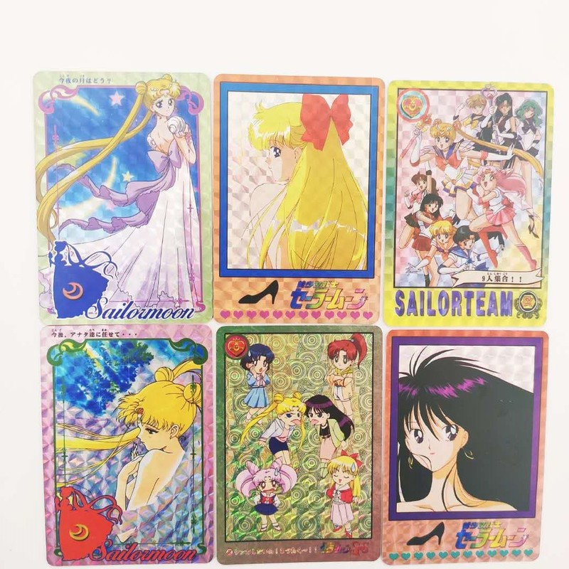 32pcs/set Sailor Moon Sexy Girl Toys Hobbies Hobby Collectibles Game Collection Anime Cards Free Shipping Sexy Beauty