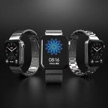 Für Mi Uhr Band Metall Strap Für Xiaomi Uhr Band Armbänder Armband Uhr Handgelenk Band Für Xiao Mi Wtach Stecker 20mm Linker