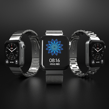 For Mi Watch Band Metal Strap For Xiaomi Watch Band Wristbands Bracelet Watch Wrist Band For Xiao Mi Wtach Connector 20mm Linker