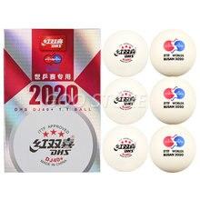 Новинка 2020 года мячи для настольного тенниса dhs dj40 + 3