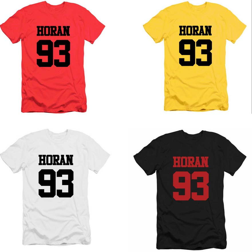 Official One Direction Group Standing Women/'s T-Shirt 1D Liam Niall Harry Zayn