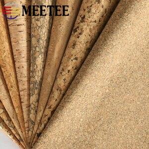 Image 5 - Meetee 200X137cm 0.5mm עבה טבעי פקק עור בד DIY שקיות נעלי מזוודות בעבודת יד מלאכת עץ תבואה דקור אספקת חומר