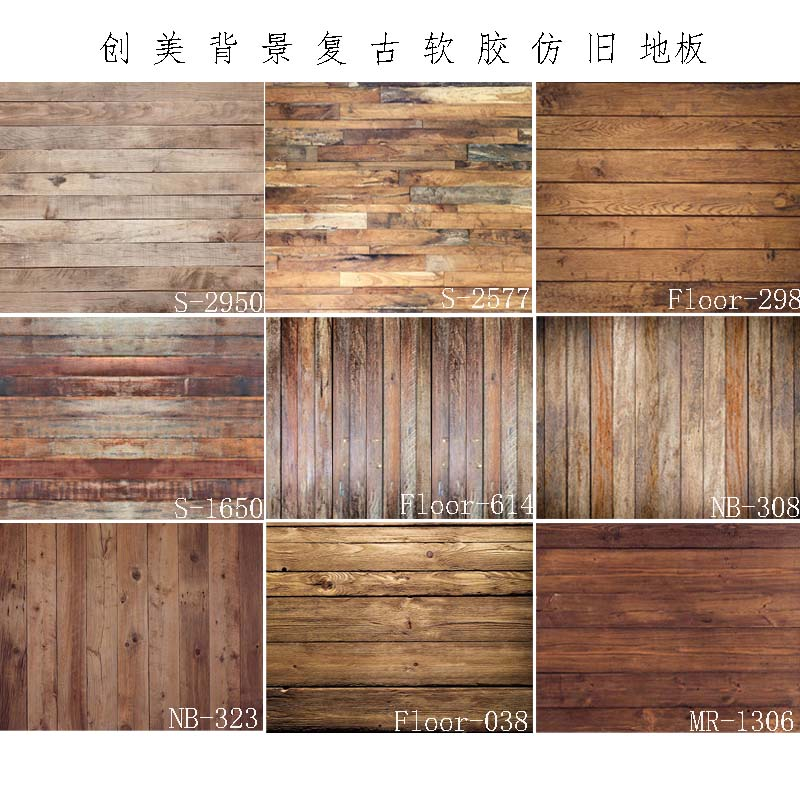 Us 4 98 40 Off Rubber Floors Photography Backdrops Vinyl Photo Background Customize Printed Wood Floor Newborn Backdrop Rubber Backed Mat Prop In