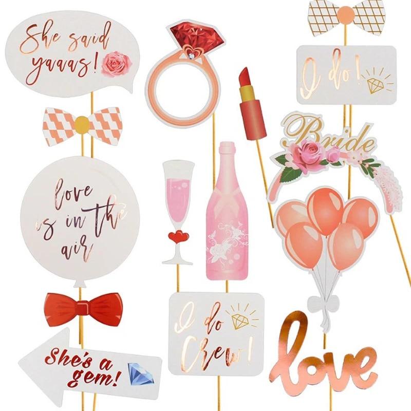 Bridal Shower Supplies Rose Gold Bridal Shower Rose Gold Bachelorette I Do Crew Napkins Bachelorette Party Rose Gold Hen Party