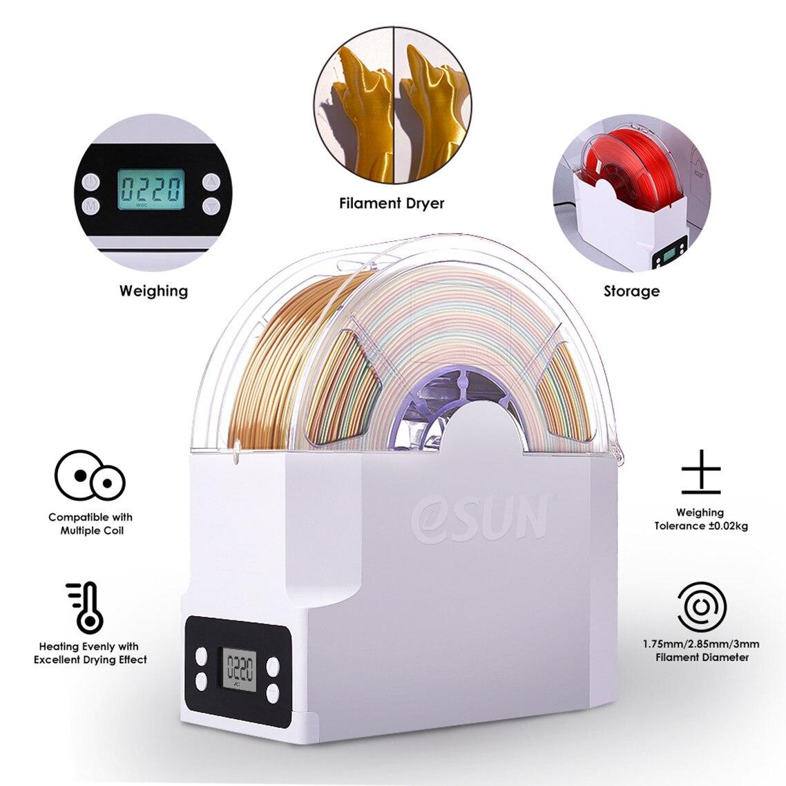 Esun ebox suporte de armazenamento do filamento