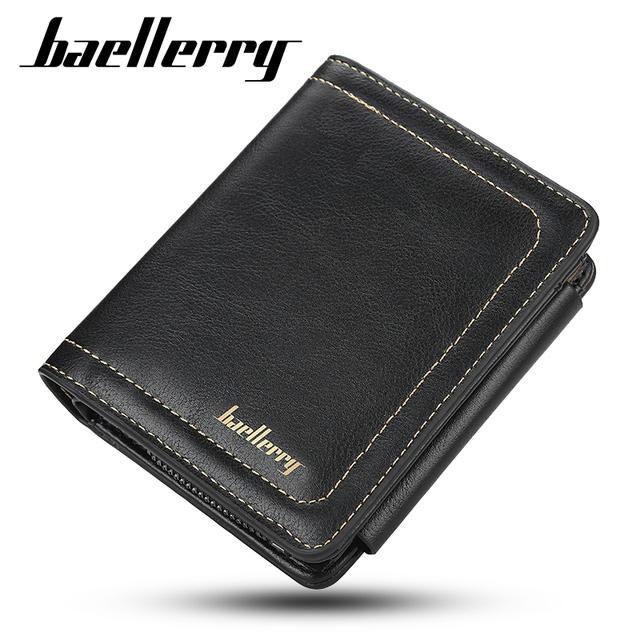 Slim Bifold Card Holder for Men