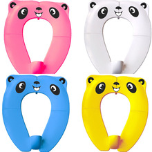 Infants Anti-Splash Pad Foldable Travel Toilet Seats Cover Potty Pads Toddlers Potty Training Baby Upgraded Portable Toilet Seat