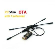 Receptor de largo alcance FrSky R9 Slim plus OTA FCC, SBUS, 6/16 canales, 900MHz, acceso para cuadricóptero RC, pieza de multicóptero, Compatible