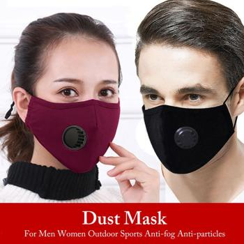 Outdoor sport face mask with filte
